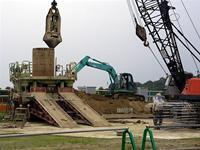 建設工事が始まったX線自由電子レーザー建設予定地 (提供:理化学研究所)
