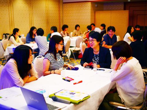 オフサイトミーティングの様子(2015年9月9-10日)