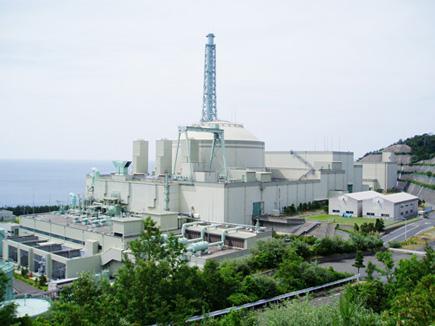 高速増殖炉「もんじゅ」。筆者撮影
