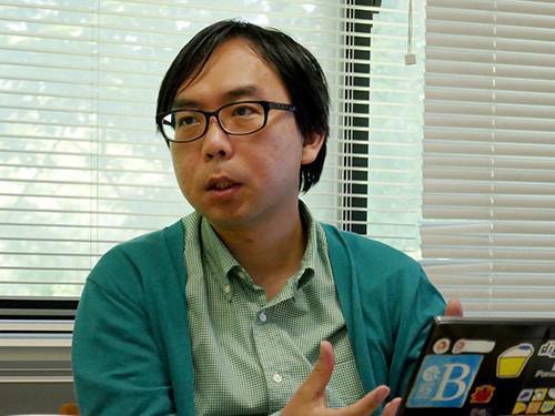 写真3 科学技術コミュニケーションについて語る川本思心氏