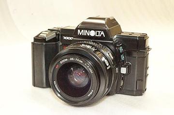 ミノルタα-7000(国立科学博物館/コニカミノルタウイズユー株式会社提供)