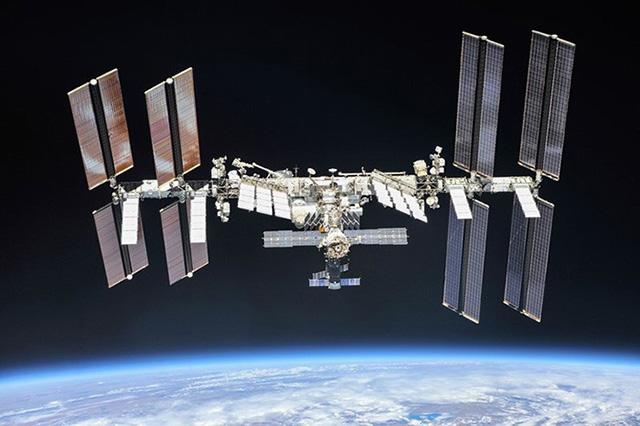 国際宇宙ステーション(ISS)=2018年(NASA、ロスコスモス提供)