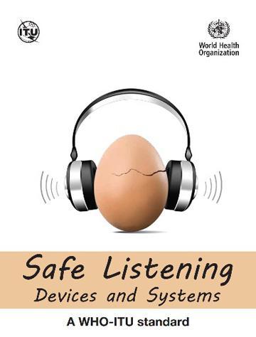 WHOが作成した聴覚障害を減らすための国際基準の表紙(WHO提供)