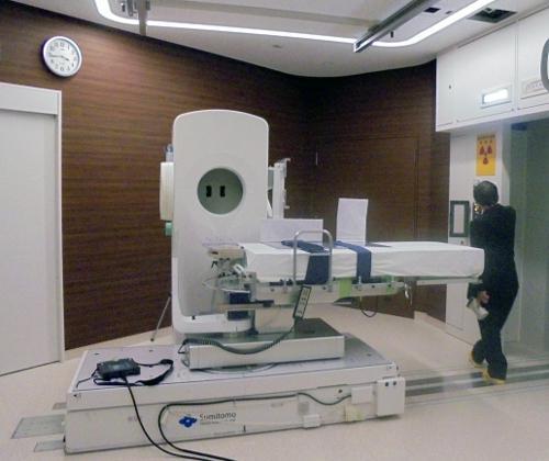 写真 日本国内のある医療施設に設置されたBNCT装置(提供・IAEA/J.A.Osso氏撮影