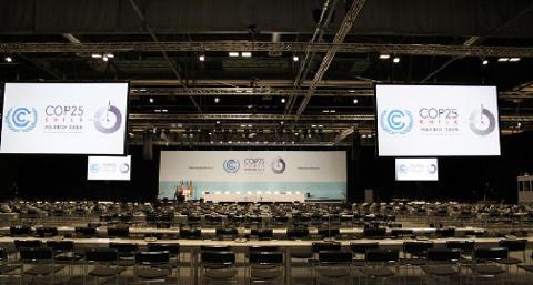 COP25全体会合の様子(COP25事務局提供)