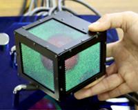 キューブ型立体ディスプレイ