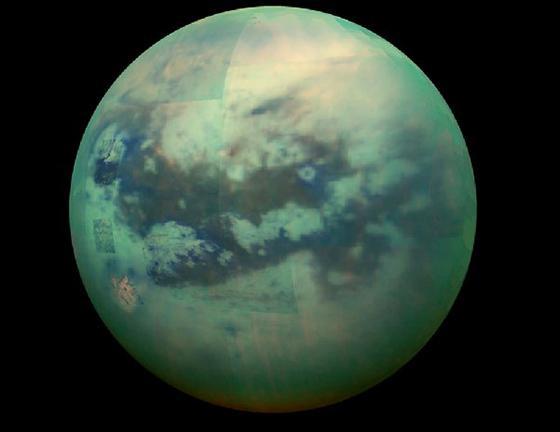 米探査機カッシーニが2005年12月に撮影したタイタン(提供・NASA)