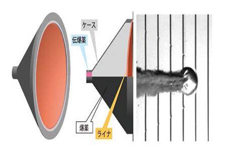 衝突装置(SCI) 。2キロの銅の塊を秒速2キロに加速して小惑星表面に衝突させることで、人工的なクレーターを作る(JAXA提供)