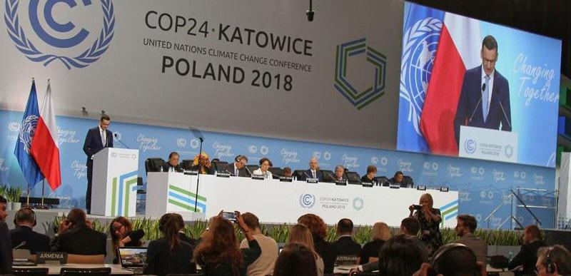 ポーランド・カトウィツェで開催中のCOP24の様子(提供・UNFCC/COP24事務局)