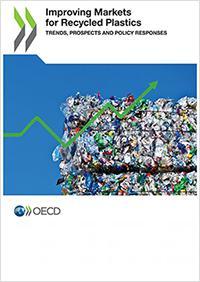 画像2 「Improving Markets for Recycled Plastics: Trends, prospects and policy responses」と題したOECDの報告書の表紙(OECD提供)