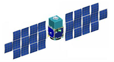 図 探査機デスティニー+の開発構想段階の概念図(JAXA宇宙科学研究所研究チーム作成・提供)