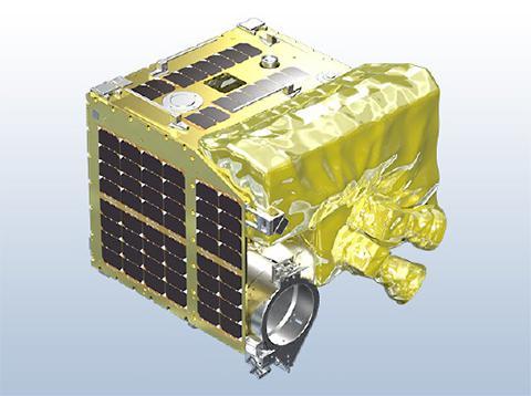通称「流れ星衛星」衛星「ALE-1」(提供・ALE/JAXA)