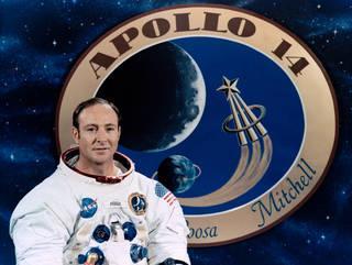 アポロ14号搭乗前のエドガー・ミッチェル飛行士(NASA提供)