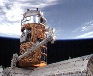 HTV国際宇宙ステーションと結合