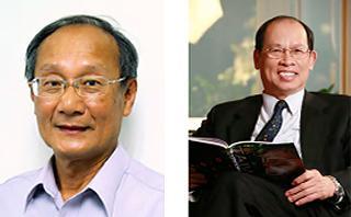 写真 チェング教授(左)とリー教授(右)(提供・アジア・太平洋物理学会連合)