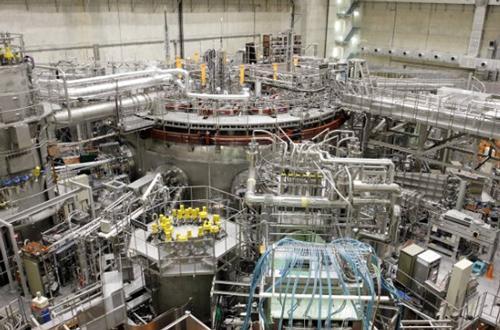 写真 核融合科学研究所(岐阜県土岐市)の大型ヘリカル装置(LHD)(同研究所提供)