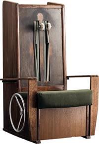 世界初の量産型マッサージチェアのフジ自動マッサージ機