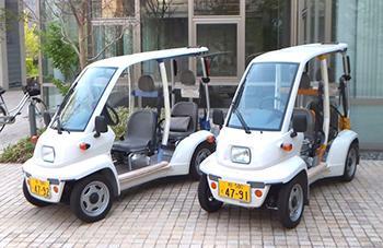 公道走行認定を受けた東大の2人乗り超小型電気自動車