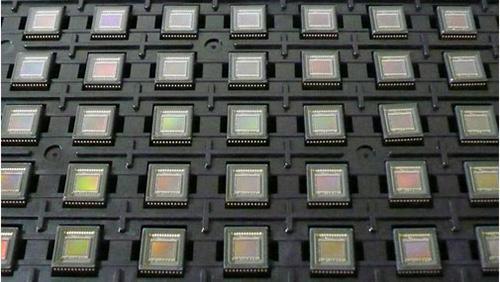 パッケージ化された赤外線カラー暗視撮影用撮像素子