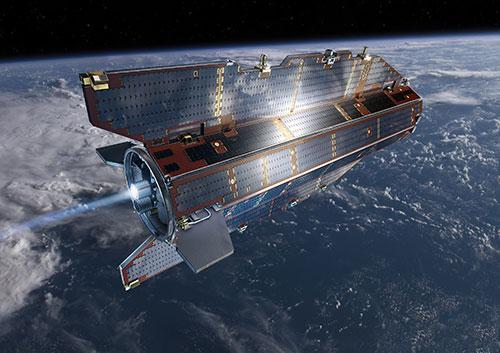 科学衛星「GOCE」