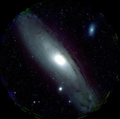すばる望遠鏡のHSCが1視野で捉えたアンドロメダ銀河
