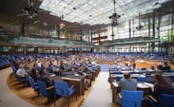 写真2 COP23の会場内の様子(提供・COP23事務局)