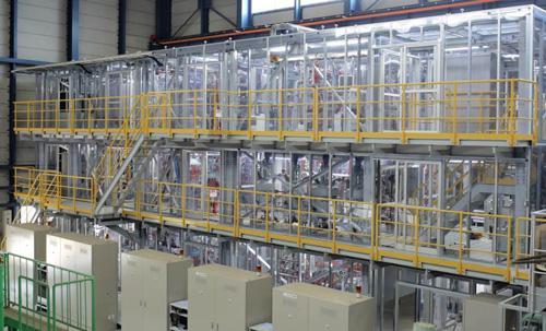 写真 連続水素製造試験装置(日本原子力研究開発機構提供)