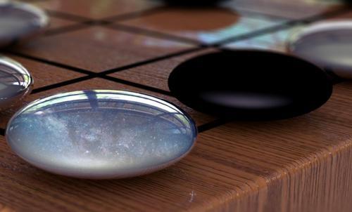 画像 「アルファ碁ゼロ」を開発したディープマインド社がホームページに掲載したイメージ画像 (提供・ディープマインド社)