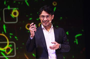 角五彰 准教授(提供:CC BY-NC-ND 2018 TEDxSapporo)