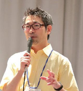 講演中の菊水健史教授(麻布大学獣医学部・菊水教授提供)