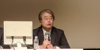 上山隆大総合科学技術・イノベーション会議議員(シンポジウム会場)