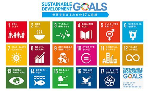 画像2 SDGsの17の目標(提供・国連広報センター)