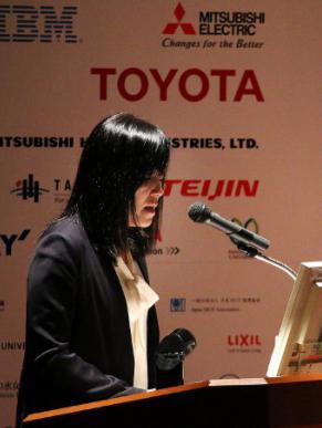 写真3 25日の主要セッションで講演するIBMフェローの浅川智恵子さん