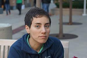 女性で初めてフィールズ賞を受けたイラン人のマリアム・ミルザハニ米スタンフォード大学教授