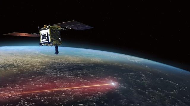 地球に帰還しカプセルを切り離した「はやぶさ2」の想像図(JAXA提供)