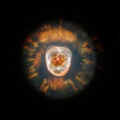惑星状星雲NGC2392(NASA提供)