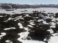グリーンランドのイスア地域