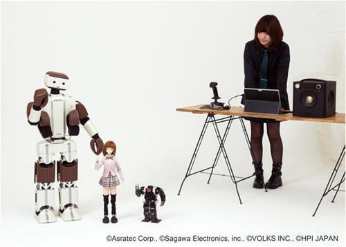 「V-Sido×Songle」での動作実績のあるロボットたち