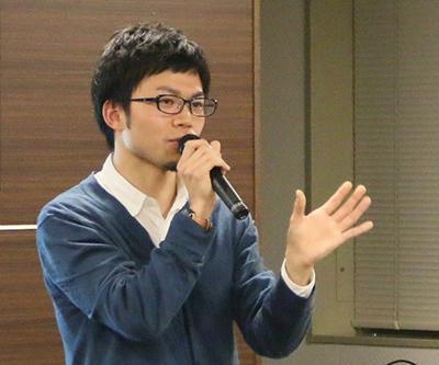 写真3 講師の槇田諭さん