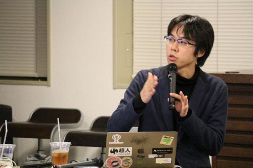 写真2 講師の南澤孝太さん