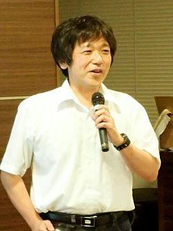 写真1 講師の中村敏和さん