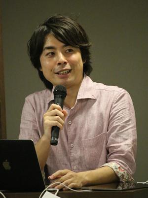 写真2 大阪市立大学都市防災教育研究センター(CERD)の吉田大介さん