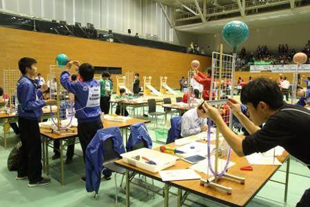 実技競技(2)空気圧を測る