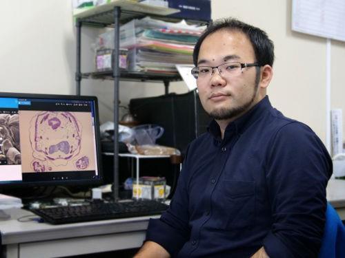 写真2 真下雄太さん(福島大学/日本学術振興会特別研究員PD)