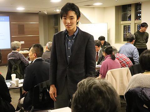 グループワークではさまざまな意見が飛び交い、武見さんも松谷さんも積極的に参加