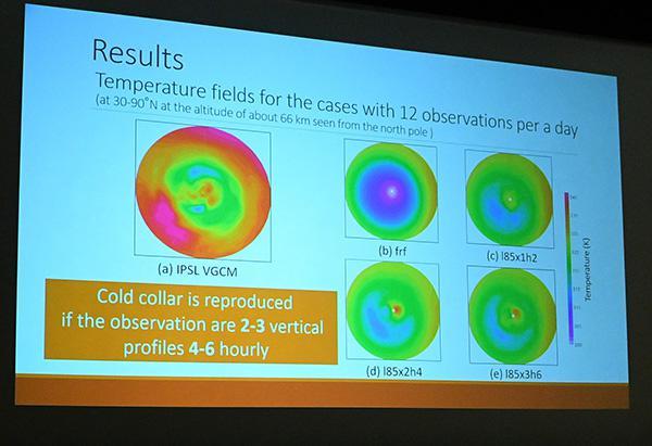 「金星大気衛星間電波掩蔽観測の立案に向けたデータ同化による研究」の発表スライド