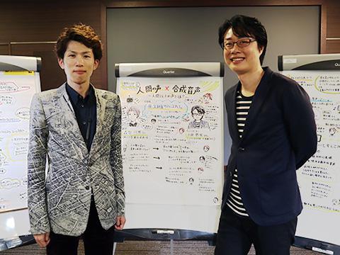 講師の森勢さんとファシリテーターの小田さん。今回のサイエンスカフェを通じて、お互いの共通点を多く発見できたという。新たな企画も生まれそうだ。
