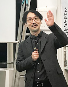ゲストの高橋恒一・理化学研究所バイオコンピューティング研究チームリーダー