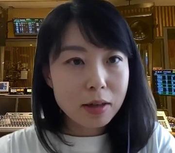 STEM/STEAMについて説明する木村優里さん(提供:理科カリキュラムを考える会)