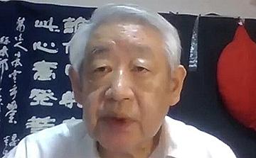 シンポジウムをまとめた滝川洋二さん(提供:理科カリキュラムを考える会)